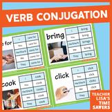 VIPKid Teaching Supplies - Level 2 Verb Conjugation Flashcards