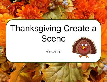 VIPKid Thanksgiving Create a Scene