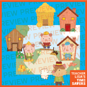 VIPKid Three Little Pigs Reward