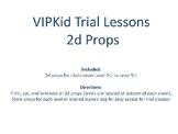 VIPKid Trial 2d Props