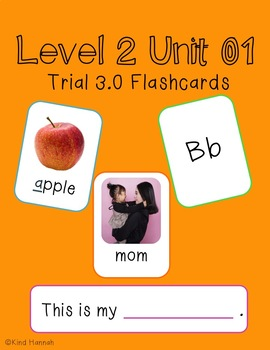 VIPKid Trial 3.0 Flashcards - Lesson 2 Unit 1 - Online EL