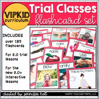 VIPKid Trial Flashcard Set (3.0 & New Interactive 3.0+)