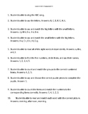 VIPKid Unit Assessment Worsheet - Level 2 Unit 1 Assessment 1