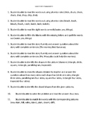 VIPKid Unit Assessment Worsheet - Level 4 Unit 1 Assessment 1