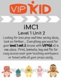 VIPKid iMC1 Level 1 Unit 2 Props
