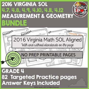 2016 Math Sol Worksheets Teaching Resources Teachers Pay