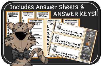 VIRGINIA SOL MATH Grade 3 CAT QUEST BUNDLE Computation and Estimation