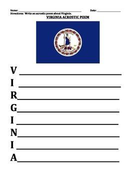 VIRGINIA FACTS UNIT (GRADES 3 - 5)