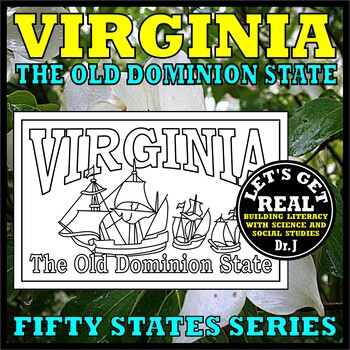 VIRGINIA: The Old Dominion State (Fifty States series)