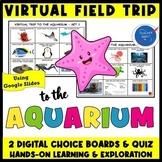 VIRTUAL FIELD TRIP TO THE AQUARIUM OCEAN ANIMALS PRE-K,K,