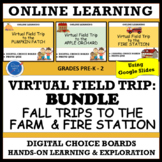 VIRTUAL FIELD TRIP BUNDLE: TO THE FALL FARMS & FIRE SAFETY