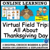 VIRTUAL FIELD TRIP TURKEY DAY - THANKSGIVING PRE-K TO GRAD