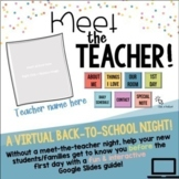 VIRTUAL Meet-The-Teacher Night! A Back-To-School Night Pre