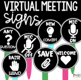 VIRTUAL Meeting Signs