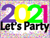 VIRTUAL NEW YEAR'S PARTY THEMED DAY - Google Slides - Distance Learning
