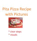 VISUAL RECIPE - Pita Pizzas