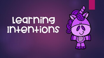 VISIBLE LEARNING POSTERS - Purple Unicorn