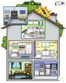VISUAL AID/POSTER - Mi Casa! (Use digitally or create a poster.)