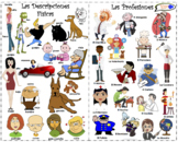 VISUAL AID/POSTER - Physical Descriptions & Professions!