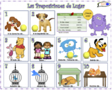 VISUAL AID/POSTER - Prepositions of Place! (Use digitally
