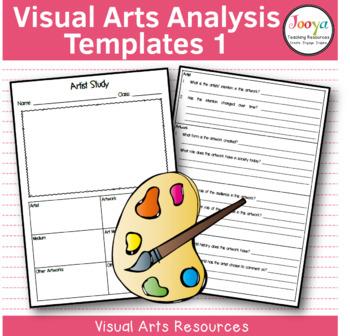 VISUAL ARTS - Art Analysis Template 1
