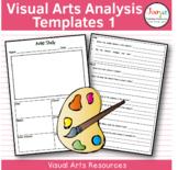 Visual Arts Analysis Worksheets 1