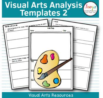 VISUAL ARTS - Art Analysis Template 2