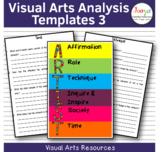 Visual Arts Analysis Worksheets 3