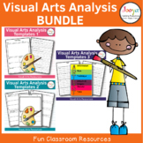 Visual Arts Analysis Worksheets Bundle