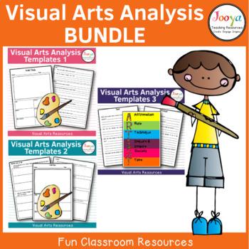 VISUAL ARTS - Art Analysis Template Bundle