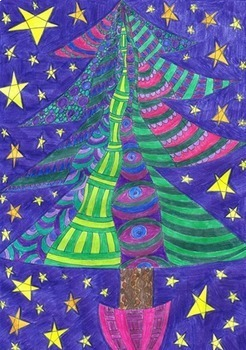 CHRISTMAS - Zentangles to color in