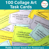 Collage Art Task Cards