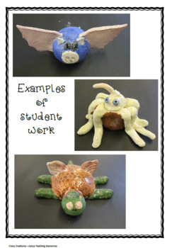 VISUAL ARTS : Crazy Creatures Unit of Work with Super Six Reading Strategies