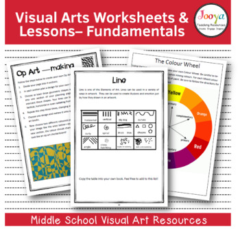 VISUAL ARTS: Funky Fundamentals Unit of Work with Super Si