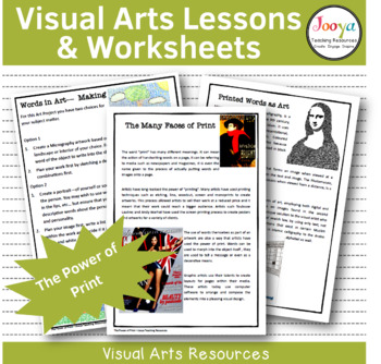 VISUAL ARTS - The Power of Print Unit of Work for Middle School Students