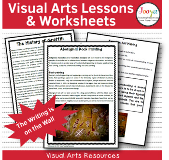 VISUAL ARTS - Writing is on the Wall - Unit of work with R