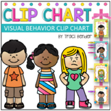 VISUAL Behavior Clip Chart {With Daily & Weekly Behavior Logs}