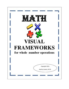 VISUAL FRAMEWORKS for whole  number operations
