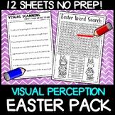 VISUAL PERCEPTION - Visual tracking - Easter: No prep activity centre