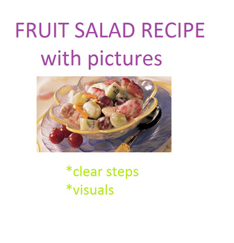 VISUAL RECIPE - Fruit Salad