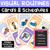 VISUAL ROUTINES & SCHEDULES with Editable Google Slides