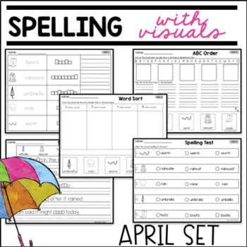 VISUAL SPELLING APRIL