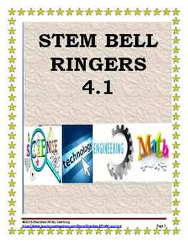 VISUAL STEM BELL RINGERS OR WARM UPS WEEK #14