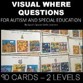 VISUAL WHERE QUESTIONS FOR AUTISM AND SPECIAL EDUCATION