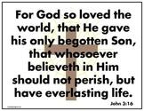 VISUALIZED BIBLE VERSES KJV