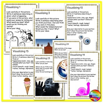 VISUALIZING Task Cards Improve READING COMPREHENSION SKILLS