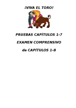 VIVA EL TORO quizzes all chapters with answer keys
