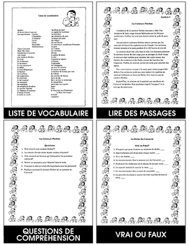 VIVE LE CARNAVAL! Gr. 4-6