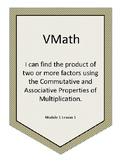 VMath I Can's Level G Module 1