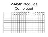 VMath Module C & D Student Tracker